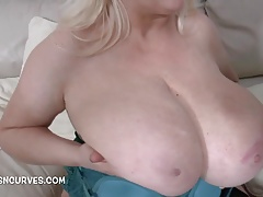Mart with big bosoms wanted his big unthinking cock