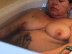 Big stepmom naughty everywhere bath