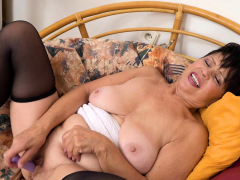 EuropeMaturE Watch her Aged Plain vanilla Pussy Moving down Wet