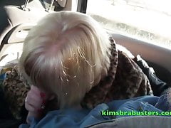 Kim increased by Trisha give hound on a buggy journey