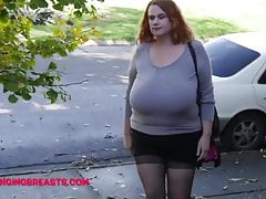 Sweater stretcher less very big boobs