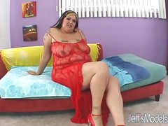 Tattooed plumper Talisa Blackness wraps her flab around a cock