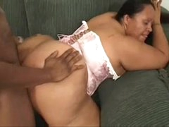 Mexican bbw fucked by Negroid cock