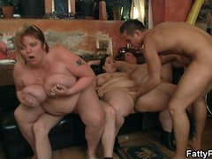Super huge interior bbw party sex