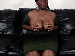 Big Black Booty BBW Cumming Be fitting of An Interview