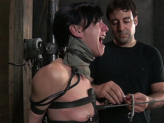 This enthralling BDSM lovemaking peel scene is worth your attention