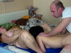 Sweet Hottie and Granny in Bgg Porn