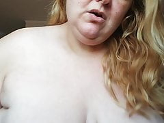 Fat pig is showing what she got