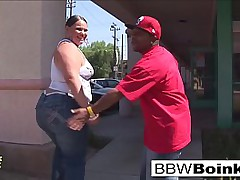 BBW Latina gets that big black cock