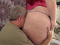 Obese redheaded bitch Jayden Constituent fucked good