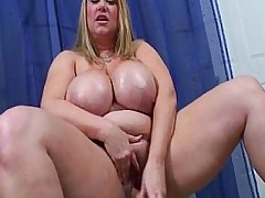 The Queen Of BBWS Samantha 38G Goes Solo