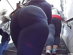 Candid - Always Love Some nice BBW Latina Booty