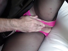 Guy Fingers My Pussy & I Suck His Cock - PVC BBW