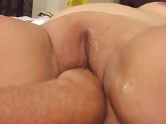 Mutual masturbating with minor extent fisting