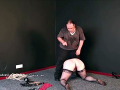 bdsm bbw chunky little panhandler in a phobia be beneficial to electro-torture