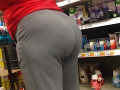 Phat Grown-up Ass in Old Sweats